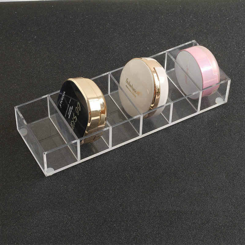 Chất Liệu Acrylic Trang Điểm Tổ Chức CC Cream Hộp Bảo Quản Organizador Maquillaje Nhựa Đựng Mỹ Phẩm Giá Đỡ Tủ Bột Hộp Hiển Thị
