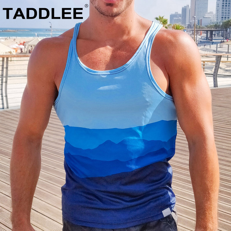 Running Vests Taddlee Brand New Mens Tank Top Tees Shirts Sleeveless Undershirts Gym Muscle Gasp Stringers Singlets Fitness Bodybuilding Vest Vests