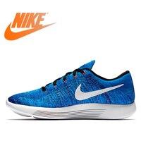 Оригинальный Nike Оригинальные кроссовки Flyknit LUNAREPIC 8 плетения Для мужчин, легкая беговая Обувь; кроссовки для спорта на открытом воздухе для п