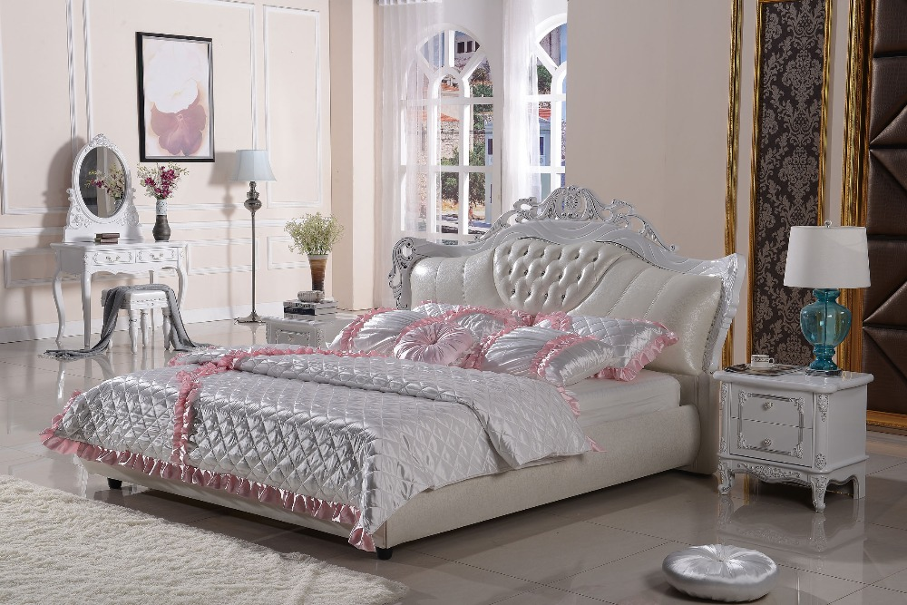 The modern designer leather soft bed   large double bedroom furniture   American style. Popular Double Bedroom Furniture Buy Cheap Double Bedroom