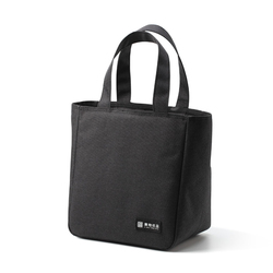 Thick Insulation Thermal Bag Lunch Bag Cooler Bags Black Lunch Boxes for Men Saco Termica Lunch Box Small Foil Food Handbag Tote