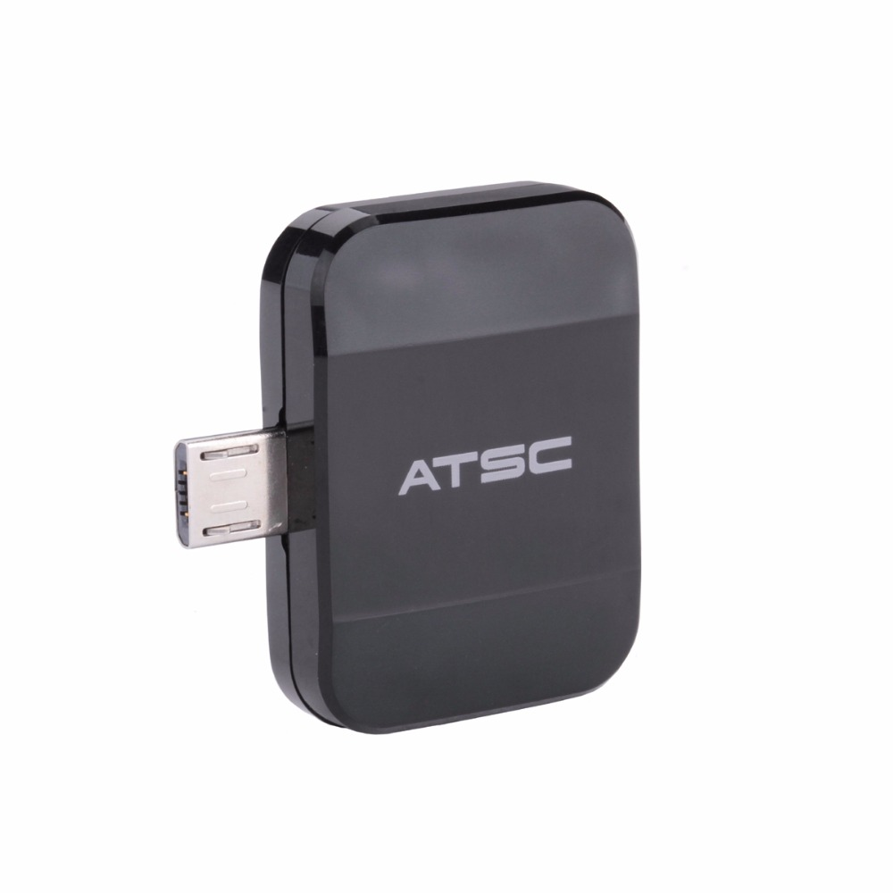 ATSC Pad TV tuner Watch free live TV on your Android phone or tablet through micro USB OTG for USA /Mexico /Canada 19