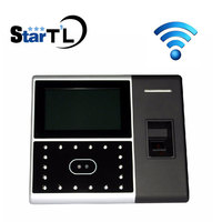 ZK Iface302 Wifi Biometric Face & Fingerprint Time Attendance Time Clock Face Attendance System 4.3 inch touch screen