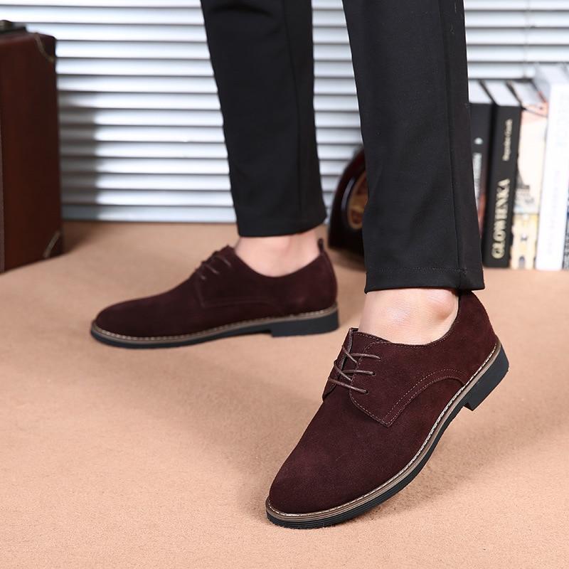 Cuir bleu Automne Dentelle Mode Printemps up Daim Chaussure Northmarch Homme Occasionnels Hommes Noir Oxfords marron En Chaussures qvZn8THwX