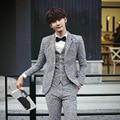 Бесплатная доставка последнее пальто брюки designs2016Korean мужские шерстяная ткань британский жених костюмы-3-х бархатные толстые свадебные костюмы для мужчин