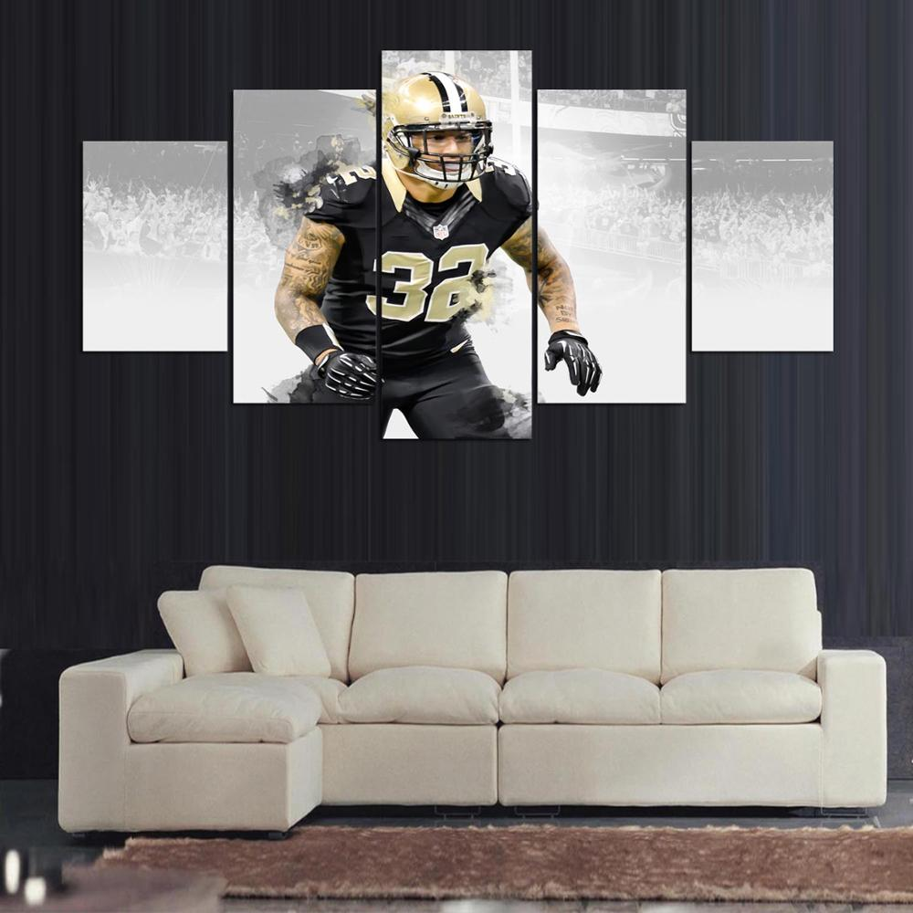 Online Dafenjingmo Arts New Orleans Saints Player 32 Kenny Vaccaro Modern Home Wall Decor Canvas Picture Art Hd Print Painting Aliexpress Mobile