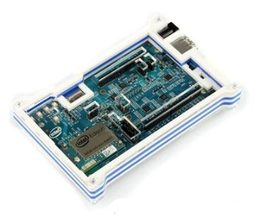 Соответствующие Синий И Белый Цвет Акриловой Оболочки Для Intel Эдисон Совет По Развитию