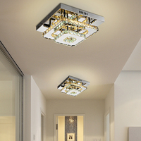 Modern Crystal LED ceiling light Fixture For Indoor Lamp lamparas de techo Surface Mounting Ceiling Lamp For Bedroom