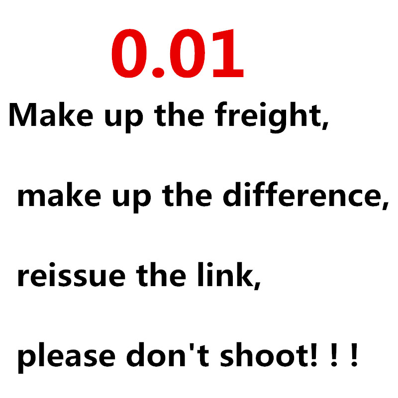 Make Up The Freight, Make Up The Difference, Reissue The Link, Please Don't Shoot!