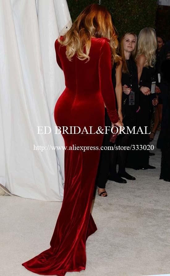 159.99 khloe-kardashian-burgundy-dress-2014-elton-john-oscar-party-01 (4)