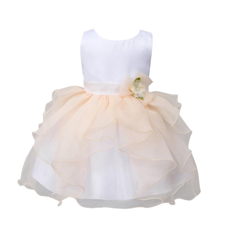 Toddler Cute Girls Fancy Tutu Dress Party Ball Gown Wedding Flower Baby Princess Dresses