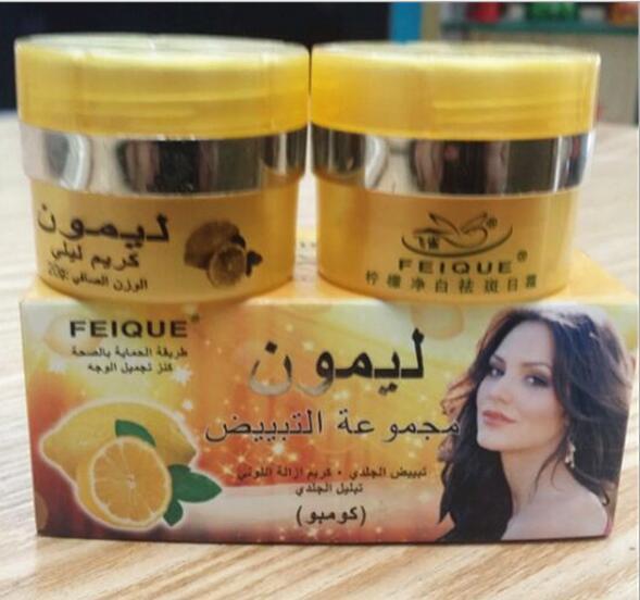 Lemon Skin Lightening Cream Skin Care Day Creams & Moisturizers Night Cream