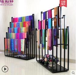 Tieyi opknoping sjaal frame floor-stijl zijden sjaals kledingwinkel display broek shawl stof frame europese stijl midden isla