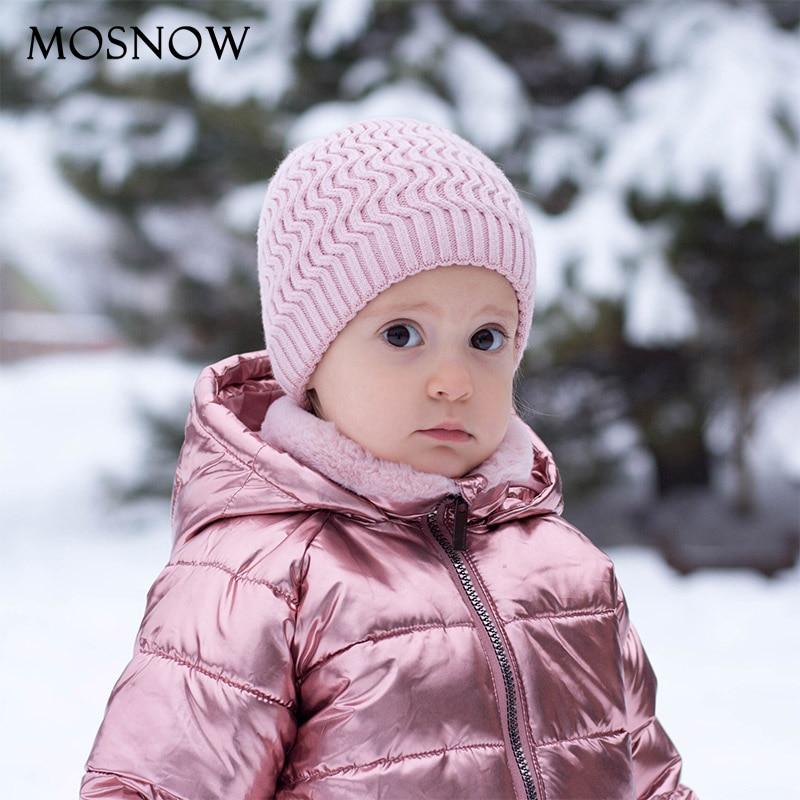 Beanie Winter Hats Caps Knitted Wool Warm Girls Boys Kids Children Brand-New for Baby