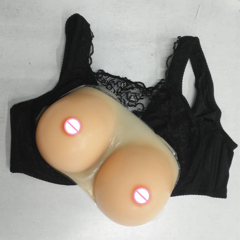 C D E Cup Silicone Breast Forms Mastectomy Artificial Silicone Breast False Bust Forms Crossdressers Transvestites new 2018