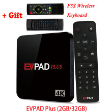 IPTV EVPAD Plus UBOX 4 Android TV Box Asian Korean Japanese Malaysia SG HK TW CN Thailand Vietnam Sports 1000 Free Live Channels
