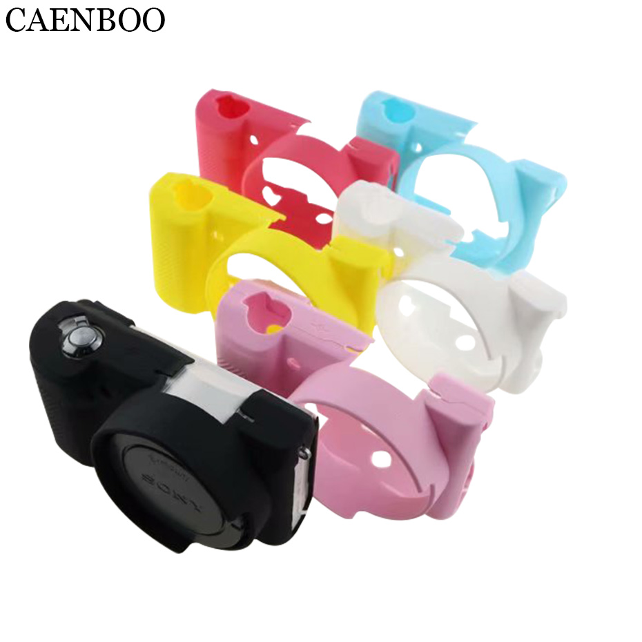 CAENBOO Camera Bags Cases Soft Flexible Silicone Cover For <font><b>Sony</b></font> <font><b>Alpha</b></font> A5100 A5000 ILCE-5100/<font><b>5000</b></font> Protective Body Cover Housing image