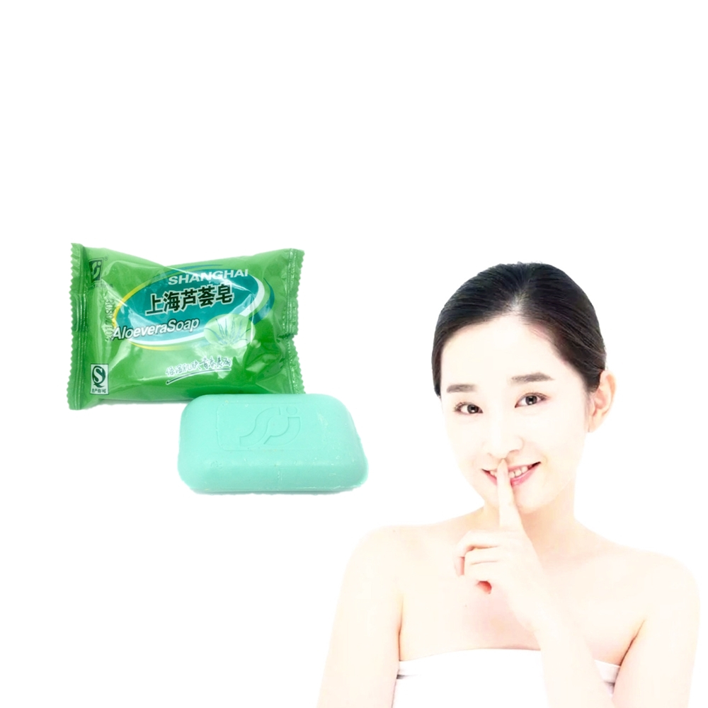 High-purity ALOEVERA Soap Anti-inflammatory Moisturizing Soap For Face & Body Beauty Healthy Care Soap