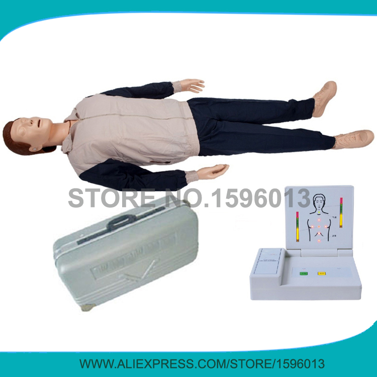 Advanced Computer Control CPR Model,First aid model,CPR Training Manikin детский костюм страшного клоуна 38 40