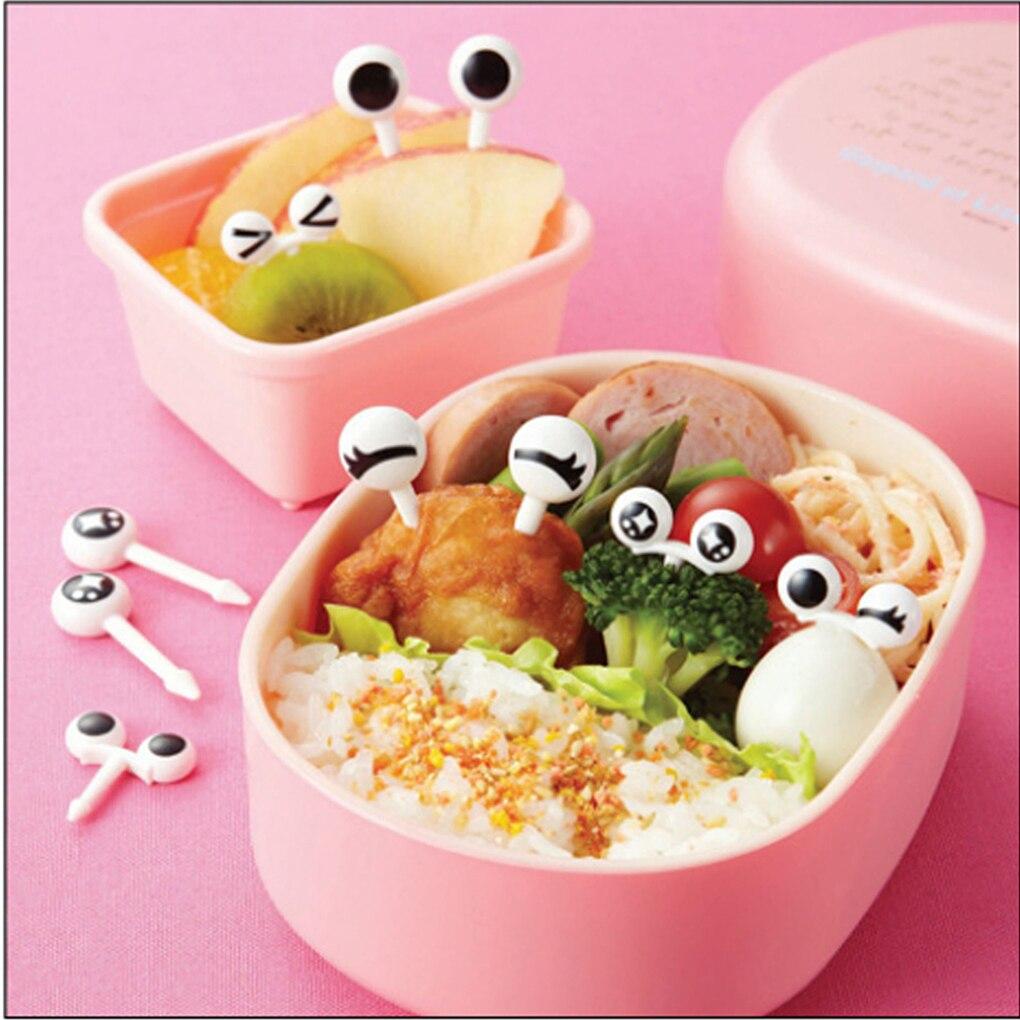 10pcs/set Kids Cute Fork Cutlery Baby Food Feeding Tableware Toddler Dinnerware Portable Utensil  Infant Tableware Children