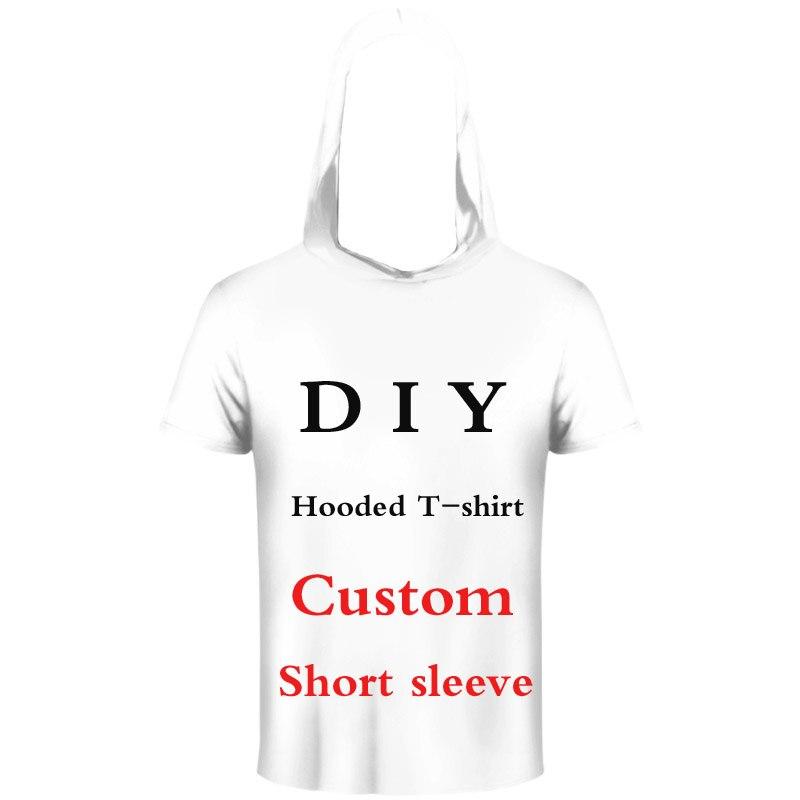 PLstar Cosmos 3D Print DIY Custom Design Men/Women Hooded T-shirt summer Casual t shirt Wholesalers Suppliers For Drop Shipper