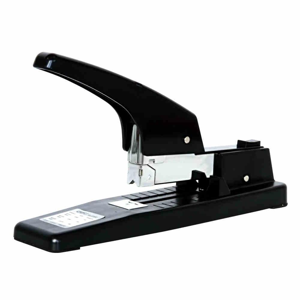 Deli 0392 lourds agrafeuse épaisseur 50 pcs papier machine à relier grapeador agrafeuse grapadora nietmachine chancellerie papelaria