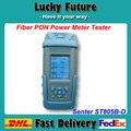 FORNECEDOR CHINÊS Senter ST805B-D OTDR PON Medidor De Potência Óptica Testador de Fibra Óptica GPON 1490nm/1550nm/1310nm