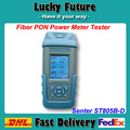 PROVEEDOR CHINO Senter GPON ST805B-D PON OTDR De Fibra Óptica Medidor de Energía Tester Óptico 1490nm/1550nm/1310nm