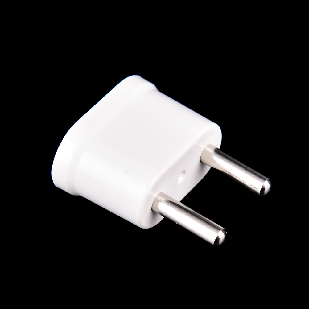 2PC/lot Consumer Electronics Power Plug Adapter Converter White Travel Charger Wall AC