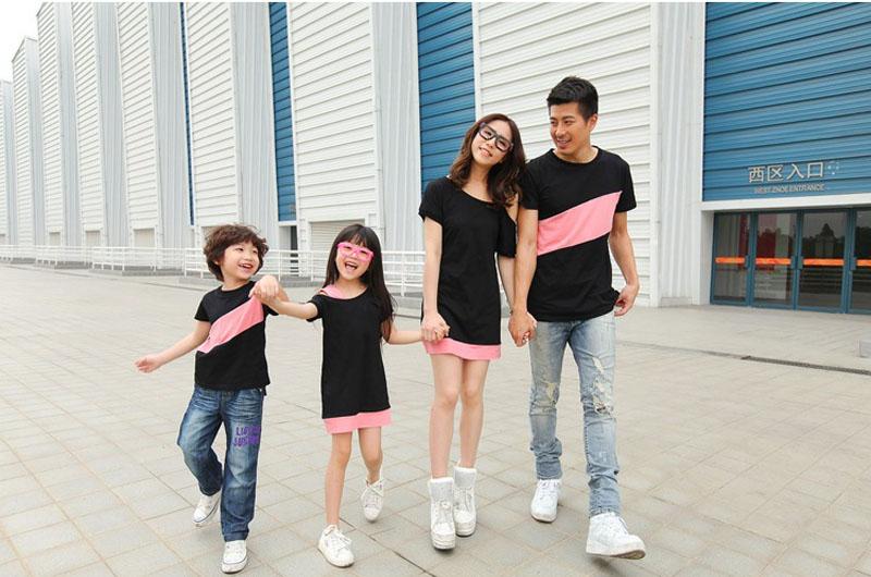 HTB1ICbjJFXXXXcCXpXXq6xXFXXXR - Entire Family Fashion - Matching Family Outfits, Smart Casual Styling, 3 Color Options
