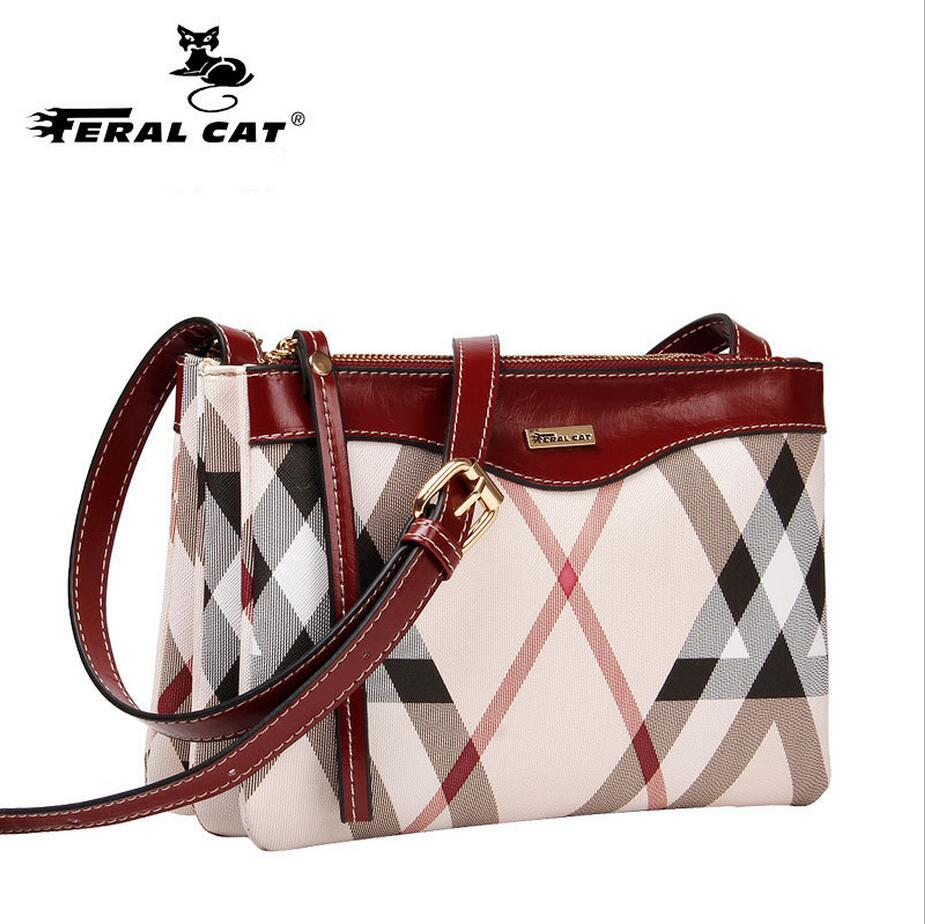 FERAL CAT New Tassel Design Women PVC Leather Crossbody Messenger bag Small Sling Shoulder Bags Fold Closure Handbag Purses jp 48 25 pavone 1106648