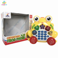 Music Phone Toy Colorful Animal Sounding Telephone Toy Educational Mobile Phones Toy