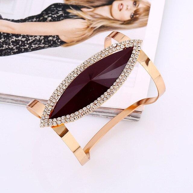 lzhlq 2021 новый модный длинный металлический браслет для женщин фотография