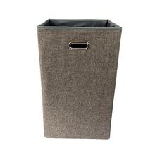 JILIDA Große Quadratische Faltbare Wäschekorb Korb Sorter Griff Schmutzige Kleidung Lagerung Bad Waschen Hause Spielzeug Organizer Box Neu