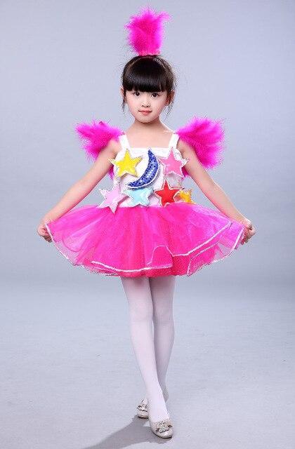 c809efc24 The new children s costumes dance skirt costumes preschool children ...
