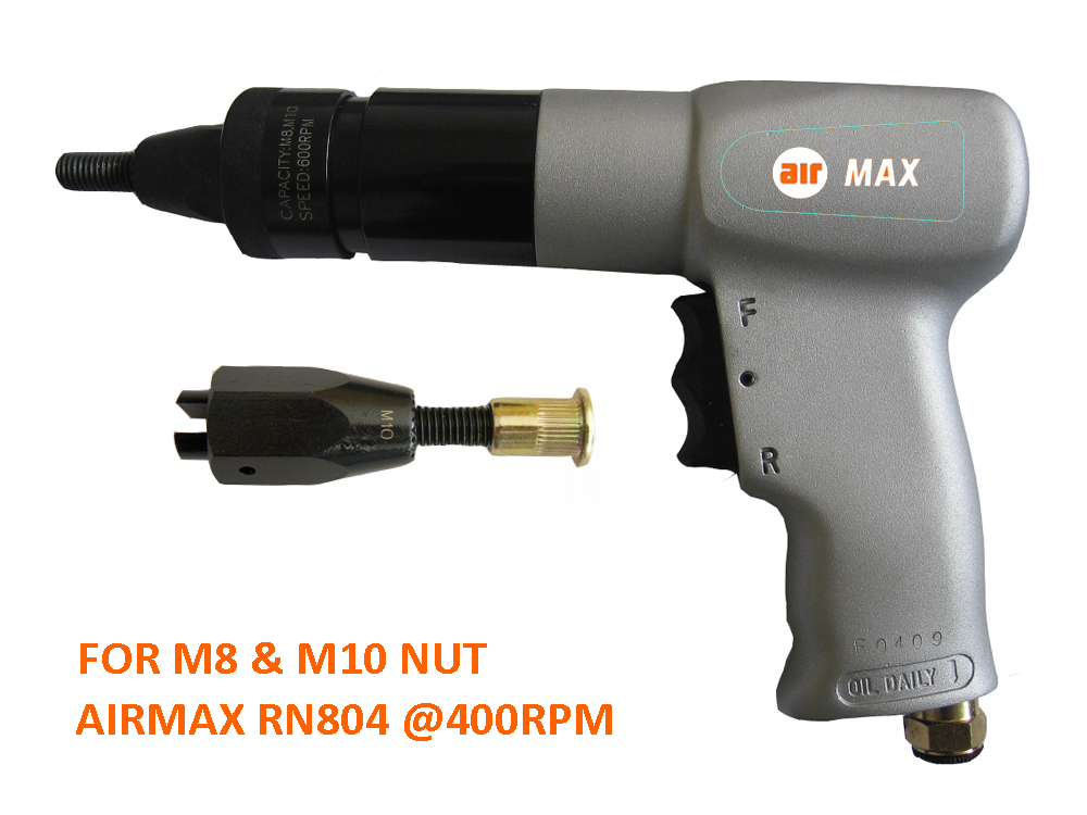 M8, M10 Setter per utensili pneumatici per rivettatrice RN804 (non includere la tassa doganale)