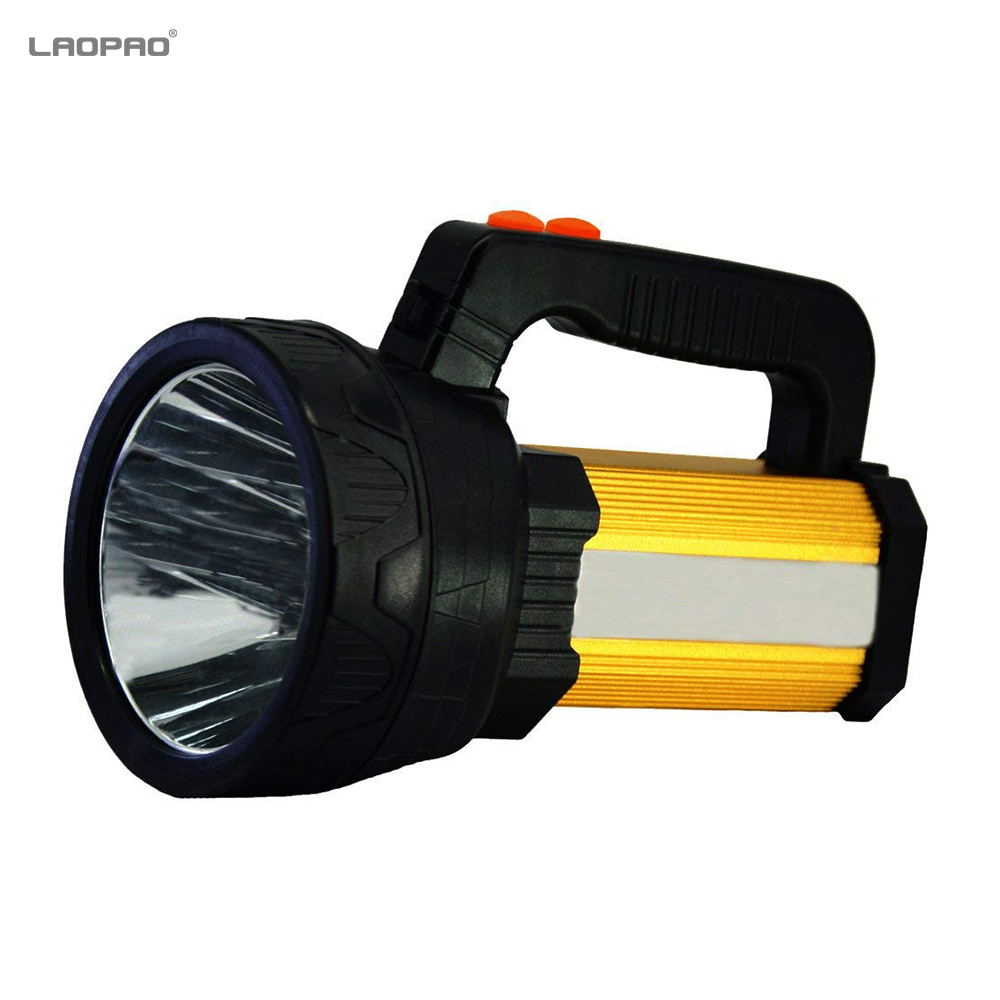 Security & Protection Smart Solar Portable Rechargeable Emergency Searchlight Led Camping Light Outdoor Work Spot Lamp High Quality