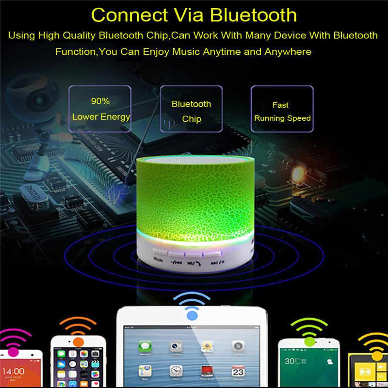 Dropship 1 PCS DC 5 V 500 mAh 3 W Auto Radio Ausgezeichnete Drahtlose Bluetooth Tragbare A9 USB Subwoofer Musik box Lautsprecher Auto Audio