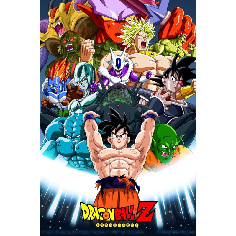 Best Nice Custom Dragon Ball Z Poster Good Quality Wall Poster Home decoration Silk Poster For Bedroom cd%51