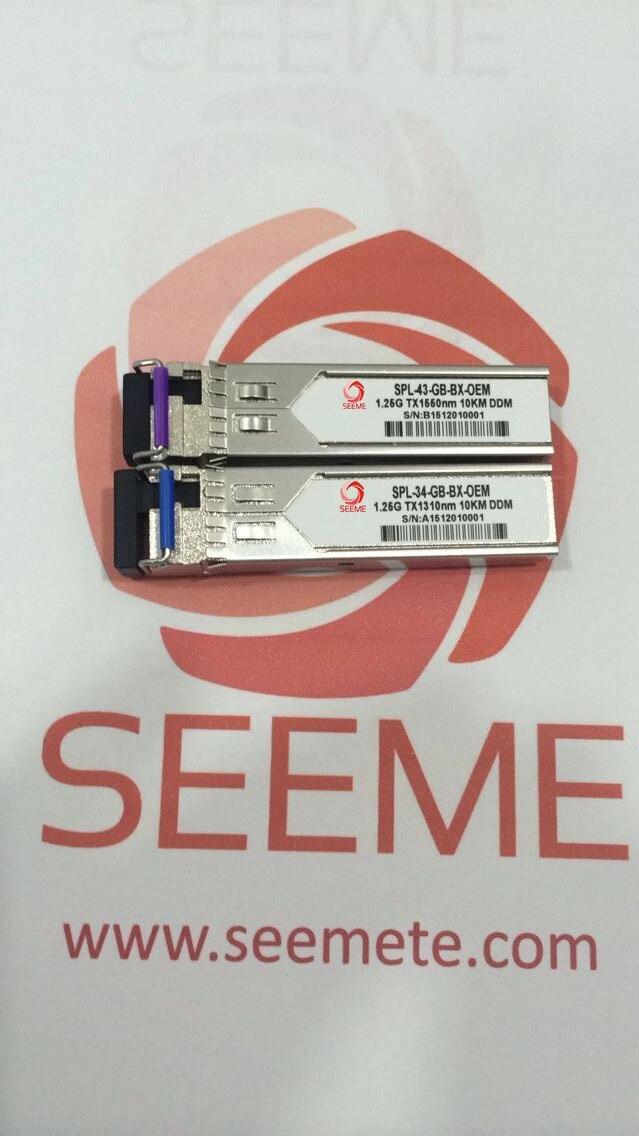 LODFIBER S+2332LC10D Mikrotik Compatible Pair of BiDi SFP 10G 10km Transceiver