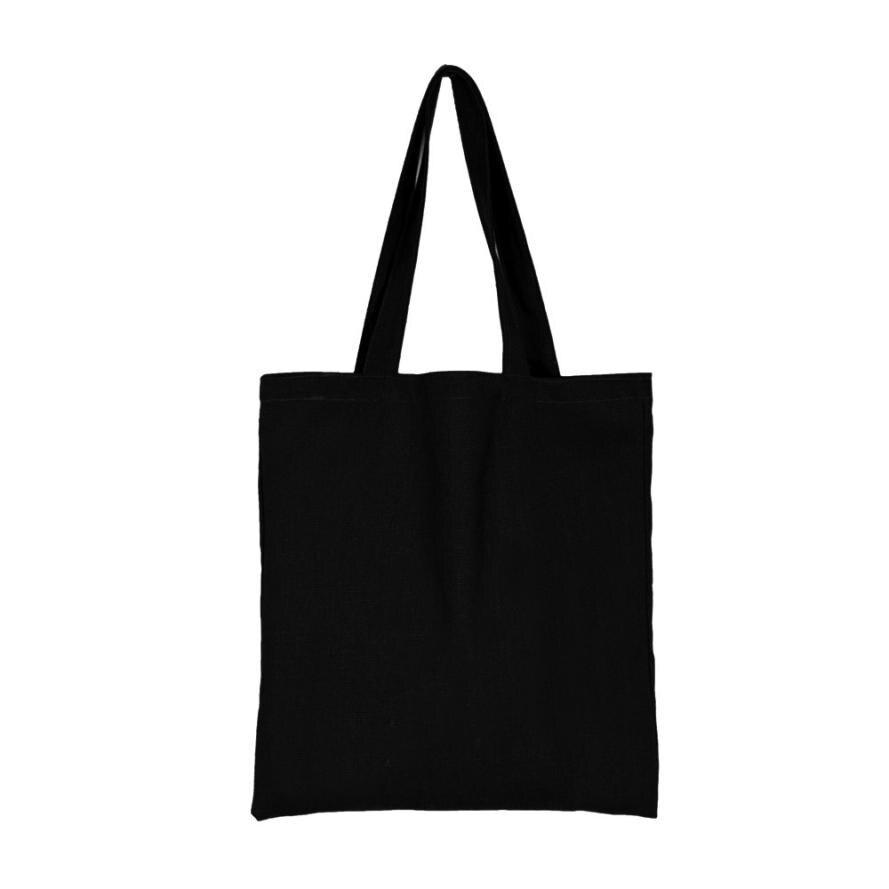 Online Get Cheap Black Canvas Tote Bags Wholesale -Aliexpress.com ...