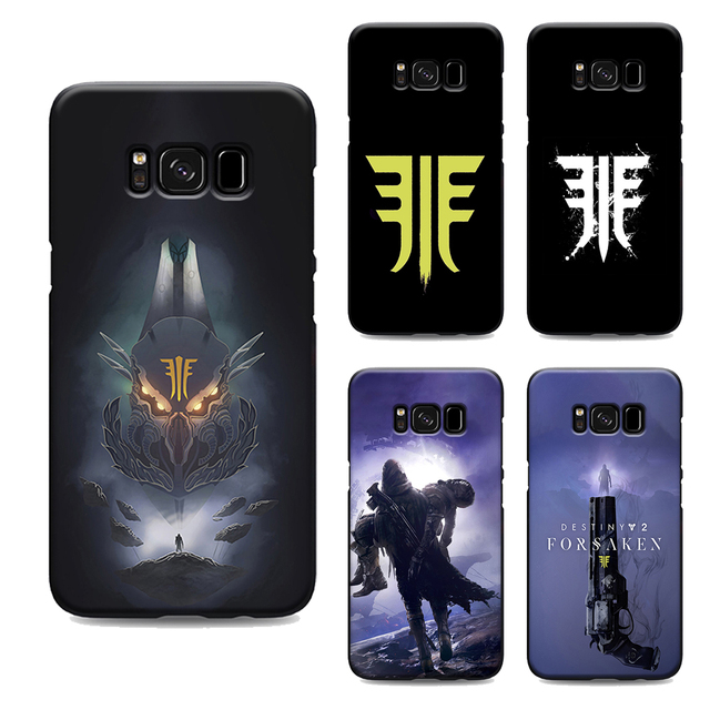 wholesale dealer 9e74b 58a23 US $1.64 34% OFF|destiny 2 forsaken phone case for samsung galaxy s7 edge  s6 s5 s8 s9 plus best soft Silicone black cover TPU Housing-in Half-wrapped  ...
