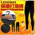 Осень зима мужчины хлопок брюки тепловая лонг джонс мужской теплый удобная дна брюки узкие брюки бесплатная доставка