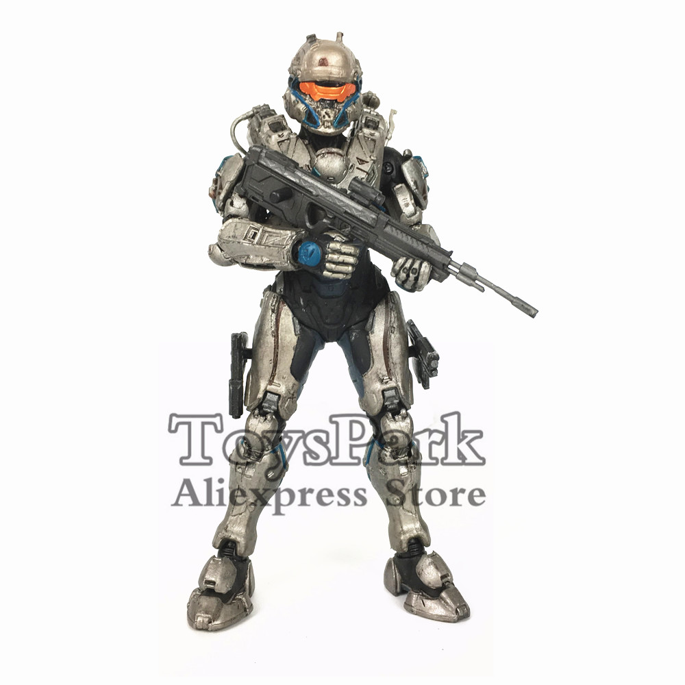 ToysPark Halo Spartan Tanaka 5 Action Figure Mcfarlane Halo 5 Guardians Series 1 Collectible Loose No Retail Box