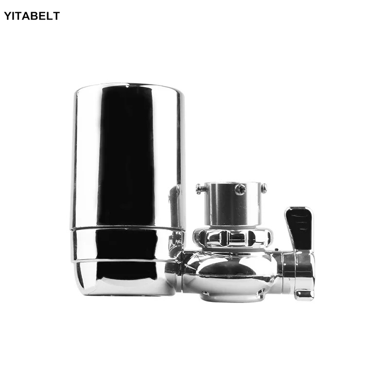 Faucet Water Filter Kitchen Tap Water Purifier- Activated Carbon Percolator - Reduce Chlorine, Odor, ContaminantsFaucet Water Filter Kitchen Tap Water Purifier- Activated Carbon Percolator - Reduce Chlorine, Odor, Contaminants