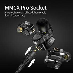 Image 5 - Plextone DX6 Detach Sport Earphone Combinable Bluetooth 5.0 3.5mm HIFI Stereo Bass headphone TYPE C Wired Earbuds MMCX Cable