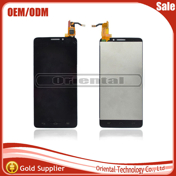 HIgh quality LCD Display +digitizer touch Screen For Alcatel One Touch Idol X OT6040 6040 6040D 6040E OT-6040D Free Shipping