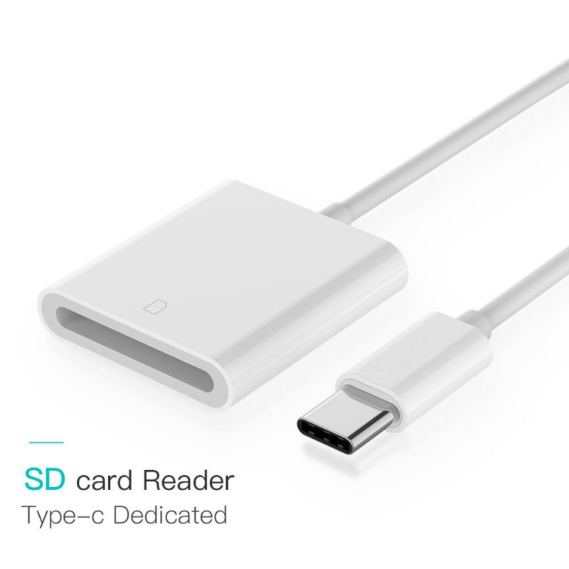 USB-C SD Card Reader Type C USB3.1 Converters For SD Card Readers SDXC Adapter For Macbook Samsung S9 Huawei P20 Xiaomi 8