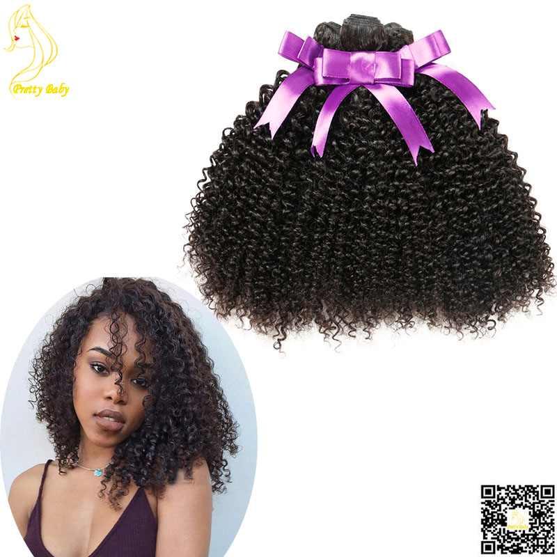 Virgin Mongolian Kinky Curly Hair 3 Bundles Virgin Human Hair Weave