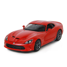 Maisto DG Viper Red Diecast Model 1:24 Alloy Car Metal Racing Vehicle Play Collectible Models Sport Cars toys For Gift
